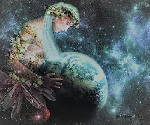 16094 Terapias alternativas energéticas cuánticas - Margaluz - Lectura y liberación a Gaia